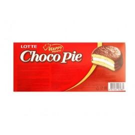 韩国LOTTE 乐天麦淇酪夹心巧克力派 28G*6