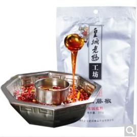 成都皇城老妈工坊 一品藤椒火锅底料(红汤)200G