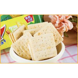 康师傅3+2 苏打夹心饼干  抹茶蜜豆味 125G