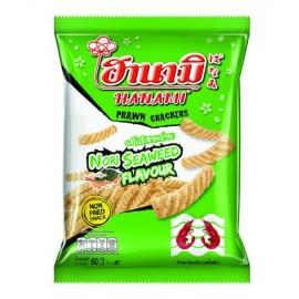泰国原产HANAMI虾条  紫菜味  60G