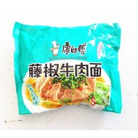 康师傅  藤椒牛肉面  100G
