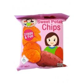 泰国原产MAE NAPA  甜红薯片  33G