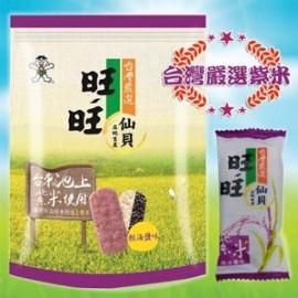 台湾严选旺旺仙贝轻海盐味  78G