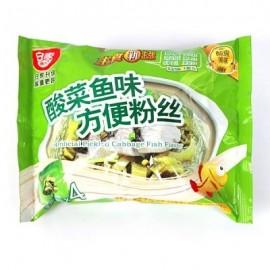 (卖光啦)白家粉丝 酸菜鱼味110G