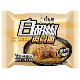 (卖光啦)康师傅 白胡椒肉骨面  103G