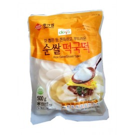 (仅限快递)韩国原产宗家府 CHONGGA 正宗年糕片 500G 周一至周四发货
