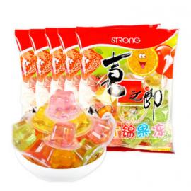 (卖光啦)喜之郎什锦果冻  360G