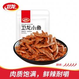 (卖光啦)卫龙小鱼  香辣味  150G