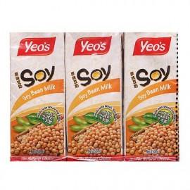 马来西亚YEO'S  杨协成原味豆奶饮料 250ML*6盒