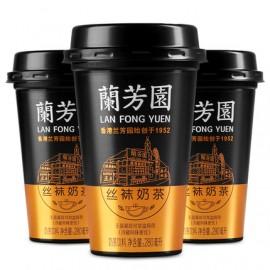 (卖光啦)香飘飘 兰芳园正宗港式丝袜奶茶 280ML