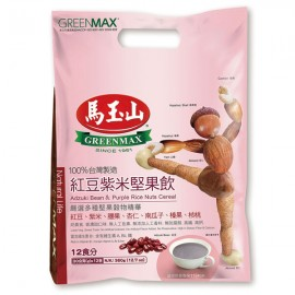 台湾原产热销马玉山红豆紫米坚果饮  30G×12包入