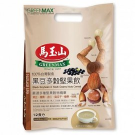 台湾原产热销马玉山黑豆多榖坚果饮 30G×12包入