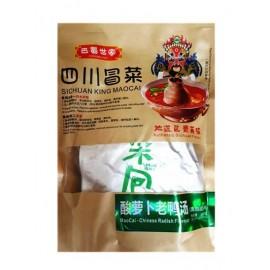 巴蜀世家四川冒菜 酸萝卜老鸭汤火锅( 清油底料) 340G