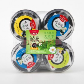 (卖光啦)生和堂吸吸龟苓膏 颜美组合(冰糖菊花+冰糖百合+冰糖莲子)208G×4盒