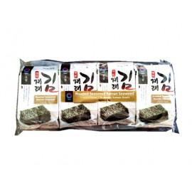 韩国OBAP 即食紫菜 家庭大包装 8*5G
