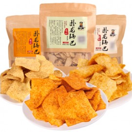 (卖光啦)卧龙 小米锅巴五香味 实惠装 208G