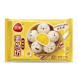 (暂停出售)三全奶黄包 360G 周一至周四发货