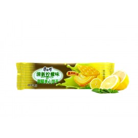 康师傅 甜酥夹心饼干 清新柠檬味80G
