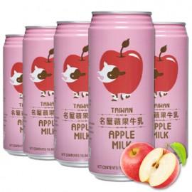 台湾原产名屋 苹果牛乳 340ML