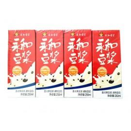 永和豆浆 香浓黑豆浆调制豆奶 250ML×4盒