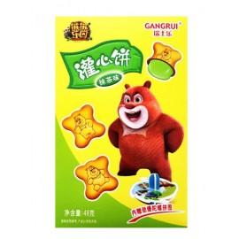 瑞士乐熊熊乐园灌心饼 抹茶味 48G