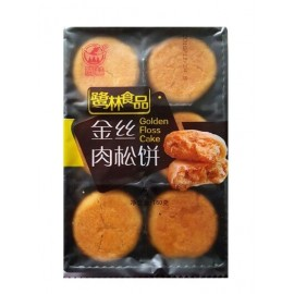 鹭林金丝肉松饼 沙嗲味 160G