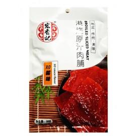 宏香记港烧原汁肉脯 XO酱味 58G