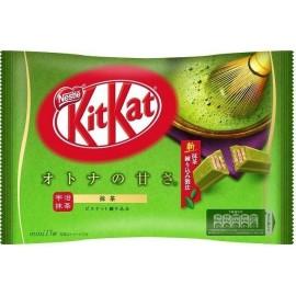 日本热销雀巢KITKAT 宇治玉露特浓抹茶巧克力 威化夾心餅 13枚裝