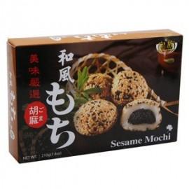 (卖光啦)台湾原产皇族和风麻糬  芝麻味 210G