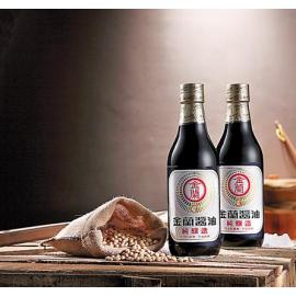 台湾金兰 酱油 590ML