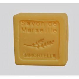 SAVON DE MARSEILLE 30G-IMMORTELLE