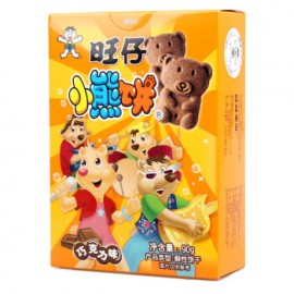 旺仔小熊饼巧克力味(酥性饼干) 90G