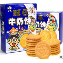 旺仔牛奶饼(韧性饼干)90G