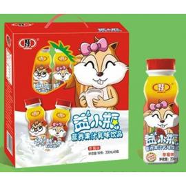 旺仔益小瓶乳味饮品 草莓味 200ML