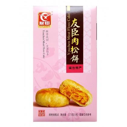 友臣肉松饼盒装 (5枚)173G