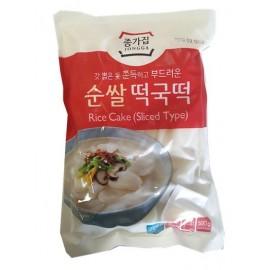 (仅限满69欧CHRONO快递)韩国原产宗家府 CHONGGA 正宗年糕片 500G 周一至周四发货