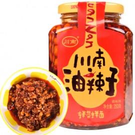 川南油辣子 拌菜拌面调味料 350G