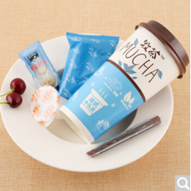 牧茶椰果奶茶 法式牛乳茶风味 97G