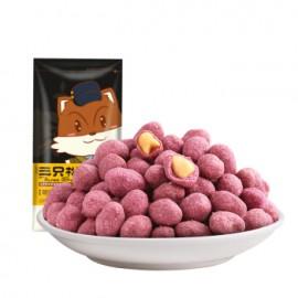 三只松鼠紫薯花生 120G