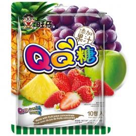 旺旺 旺仔QQ糖 综合口味实惠装 10包入 200G