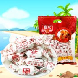 海南特产春光传统椰子糖(特浓)120G