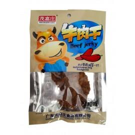 广东特色零食茂嘉庄牛肉干 沙嗲味 45G