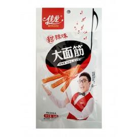 佳龙大面筋 辣条 (甜辣味)92G