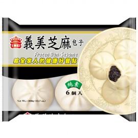 (仅限快递)台湾热销义美黑芝麻包子 360G 周一至周四发货