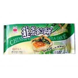 (仅限满69欧起CHRONO快递)台湾热销金宝韭菜馅饼 400G 周一至周四发货