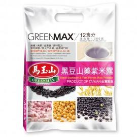 台湾原产热销马玉山黑豆山药紫米露 30G×12包入