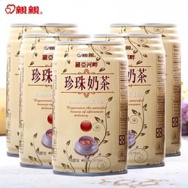 台湾热销亲亲 罗亚河畔珍珠奶茶 315ML