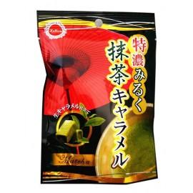 日本原产热销 铃木荣光堂特浓牛奶抹茶太妃糖40G