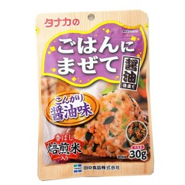 日本热销田中食品 酱油拌饭调味料 33G