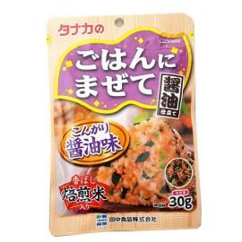 日本热销田中食品 酱油拌饭调味料 30G